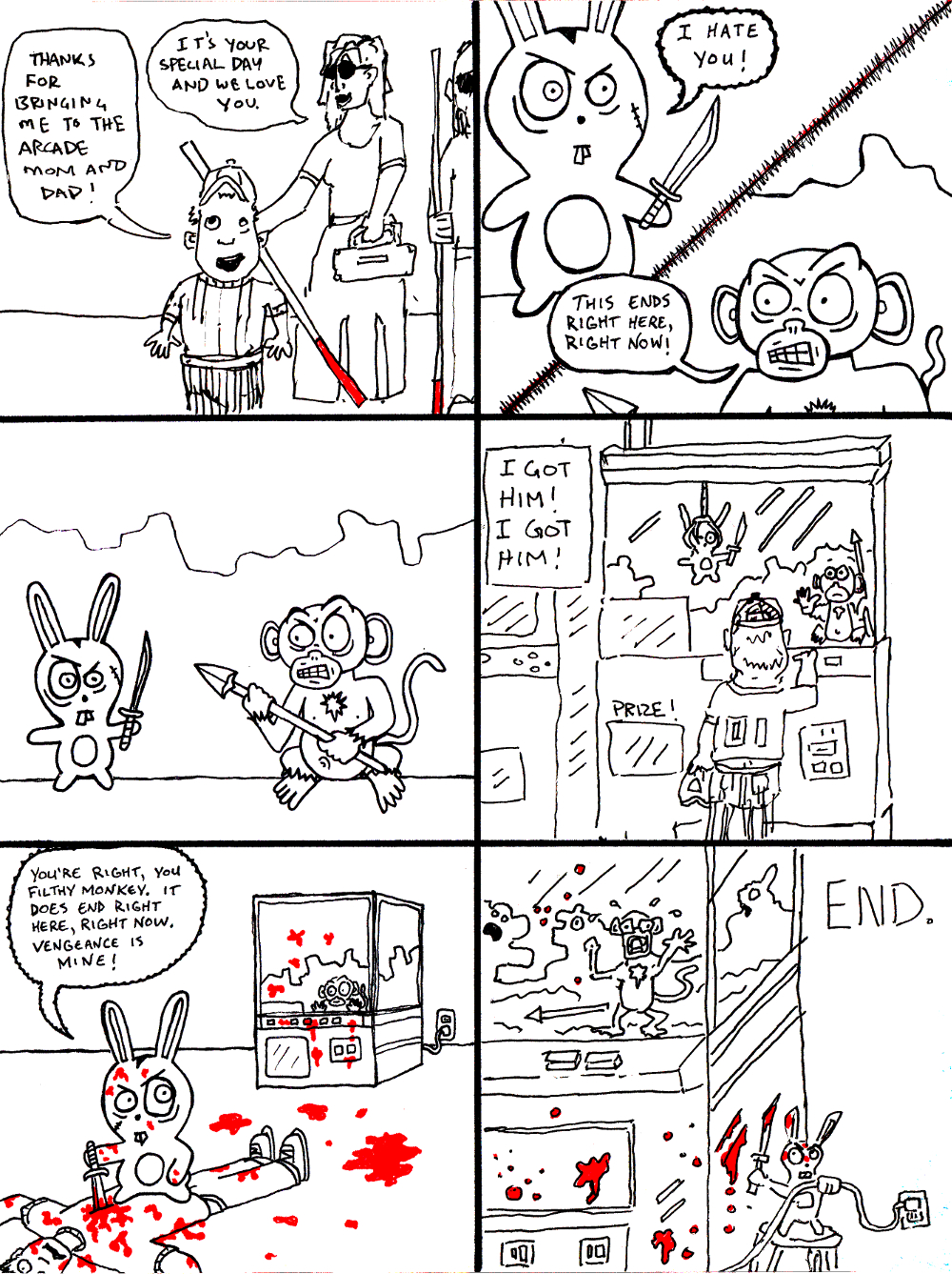 CLAW MACHINE (by Marx McNeill and Nate Crone)