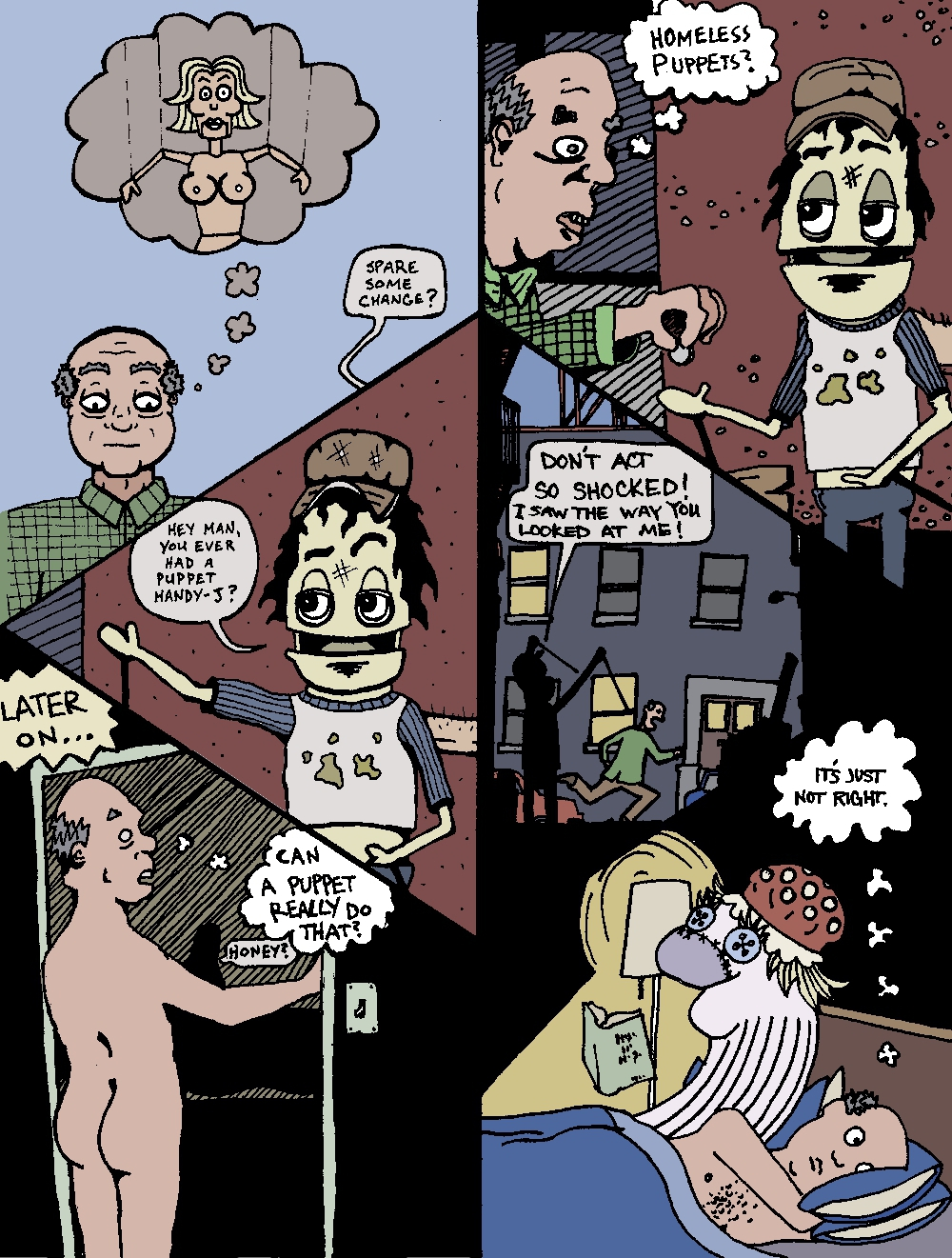 PUPPETS -[*in color*]-(by Marx McNeill, Nate Crone*, and Ed Rivera)