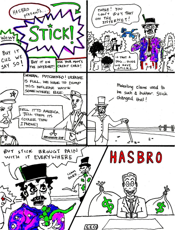 STICK! (by Marx McNeill, Nate Crone, and Ed Rivera)