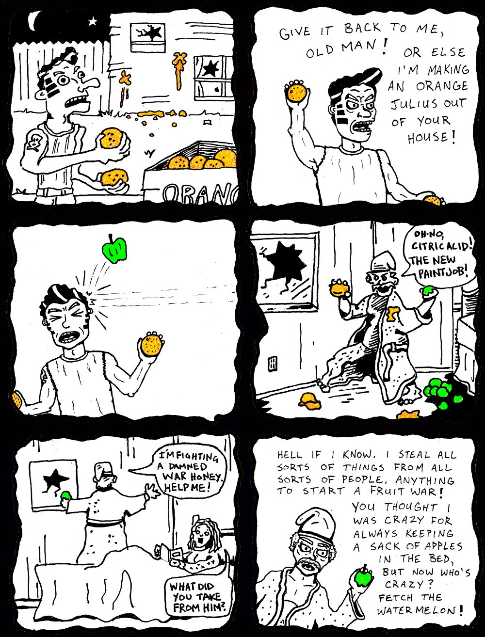 APPLES AND ORANGES (by Marx McNeill and Nate Crone)
